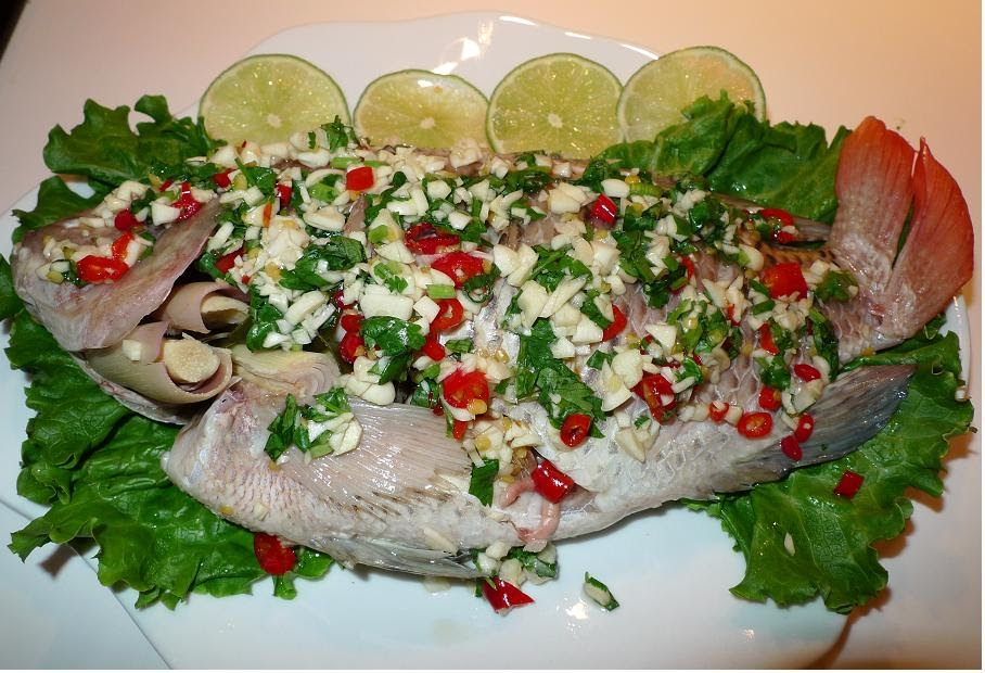 how to prepare steamed fish