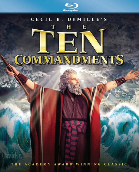 The Ten Commandments (Los Diez Mandamientos) (1956) m1080p BDRip 18GB mkv Dual Audio DTS 5.1 ch