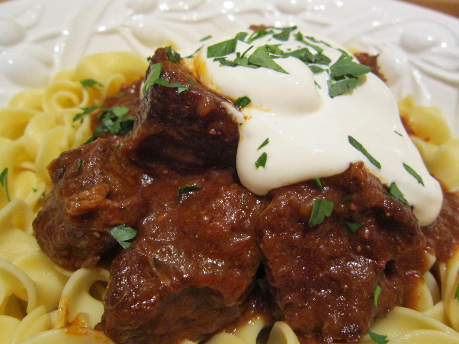 beef goulash with paprika goulash classic goulash veal goulash ...