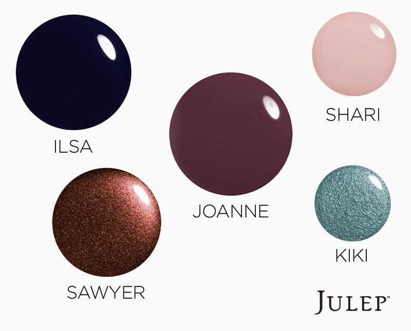 julep nail color swatch