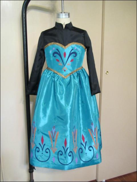 #TUTORIAL  Vestido coronación de Elsa