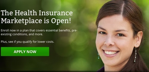 """Health Insurance Marketplace is Open!"" graphic from website"