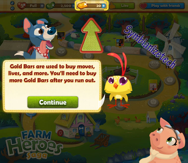 How to play farm heroes saga games in facebook technology