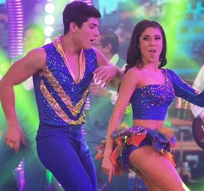 """Luis Baca bailando en """"El Gran Show"""""""