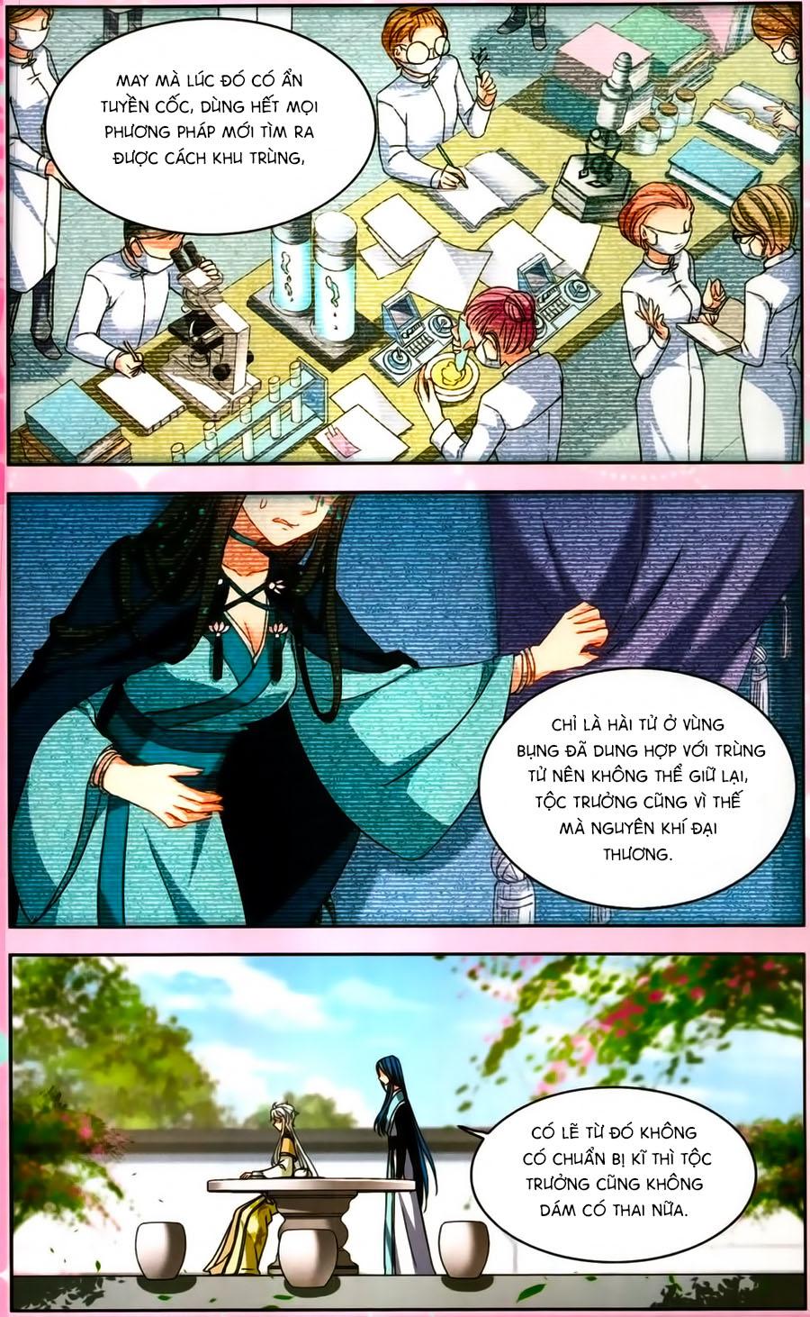 Thiên Giáng Hiền Thục Nam chap 129.5 Trang 35