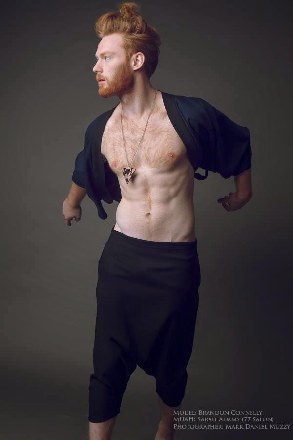 He   Male Model  Brandon Connelly