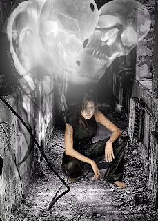 Angelina jolie photoshop dark art