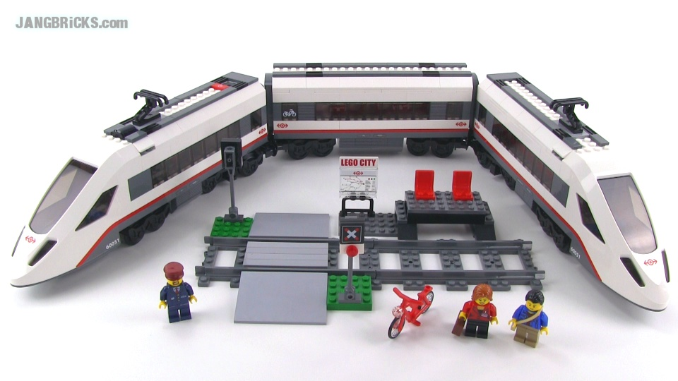 LEGO City 60051 High-Speed Passenger Train reviewed!