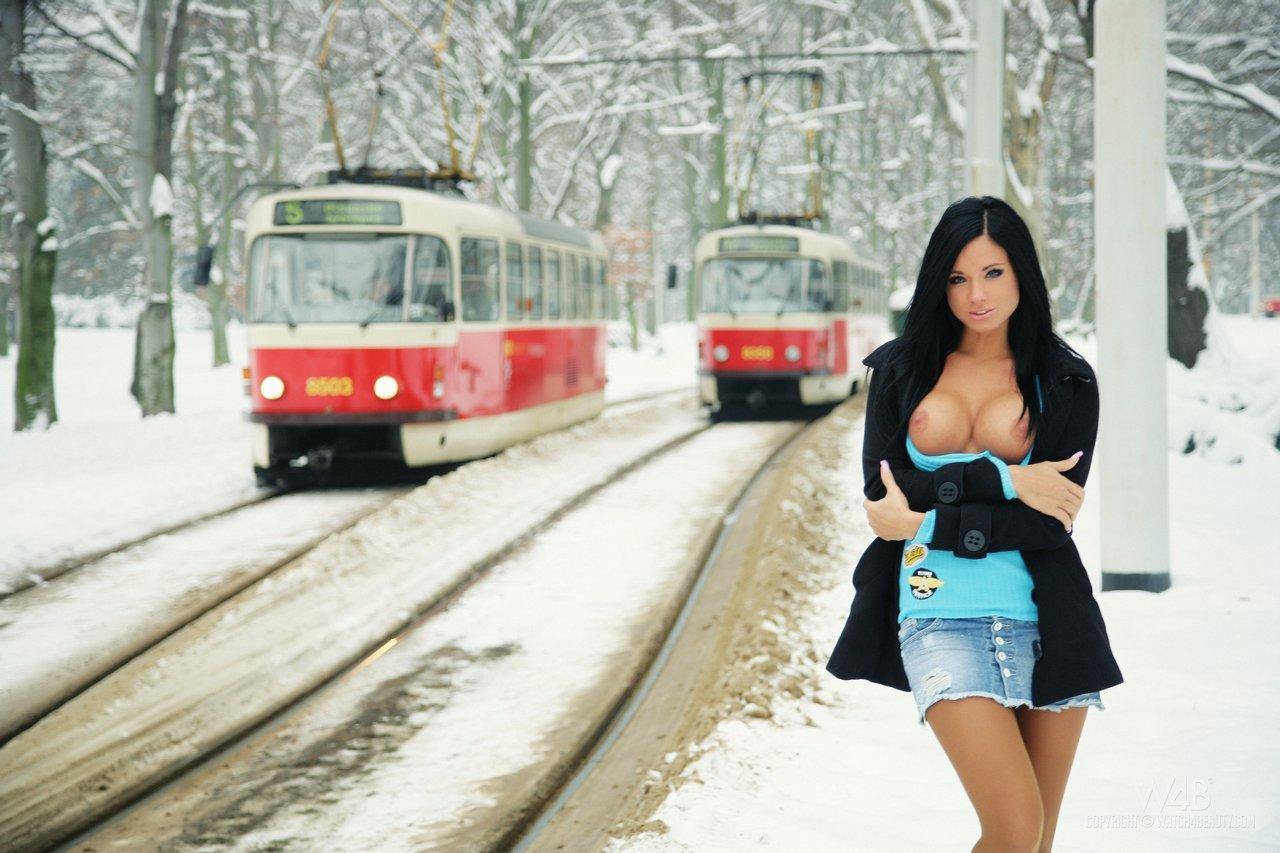 Русское порно в трамваи 1 фотография