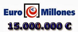 Bote del sorteo del viernes 18 de octubre de 2013 en Euromillones