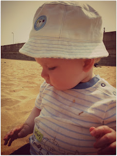 baby beach, 9 month old baby boy, ramsgate beach