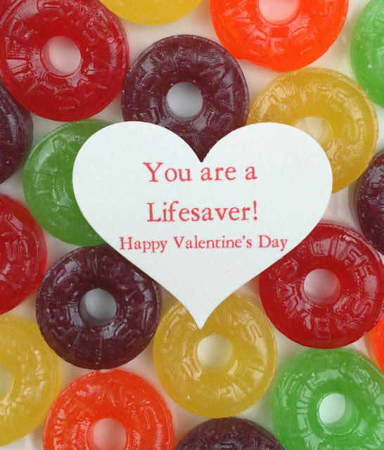 Lifesaver Valentines, a fun candy gift | www.jacolynmurphy.com
