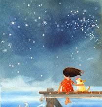 Bajo las estrellas.