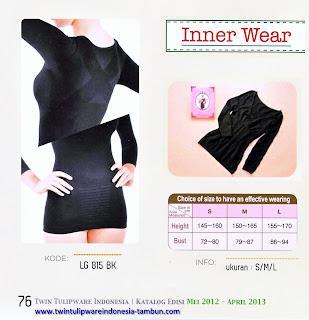 Info & Harga Twin Tulip Lingerie 2014 : Inner Wear & Inner Long Sleeve - Romance Chezreine