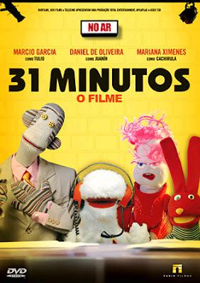 Filme Poster 31 Minutos - O Filme DVDRip XviD & RMVB Nacional