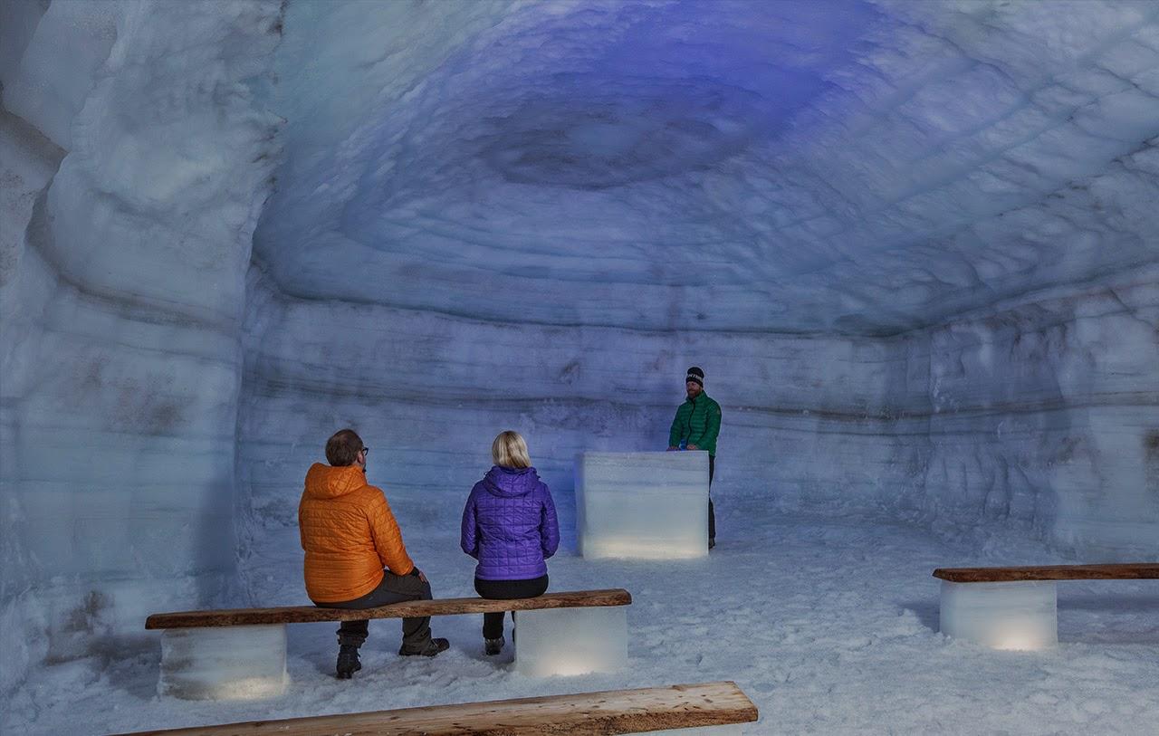 Icecave Tunnel Islande - Explorez le cœur d'un GLACIER