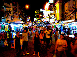 Khaosan Road,Bangkok,Thailand