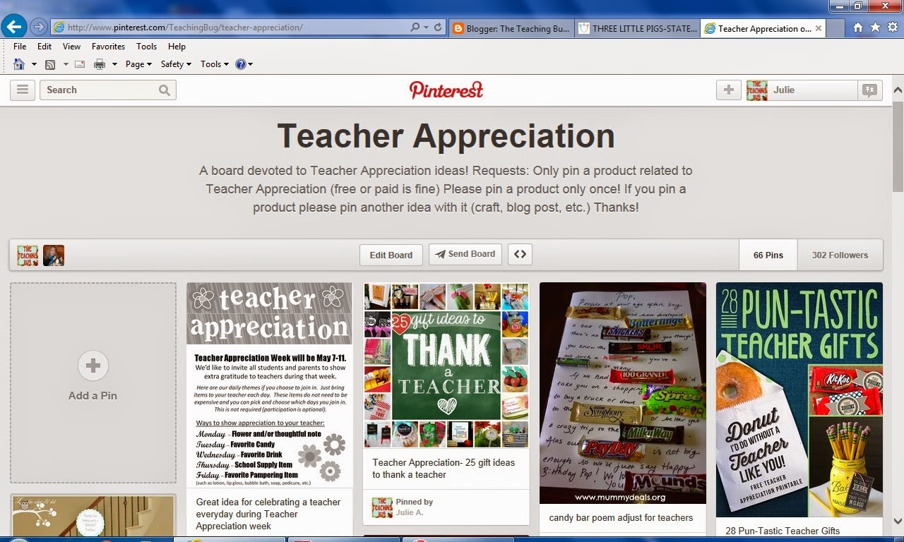 http://www.pinterest.com/TeachingBug/teacher-appreciation/
