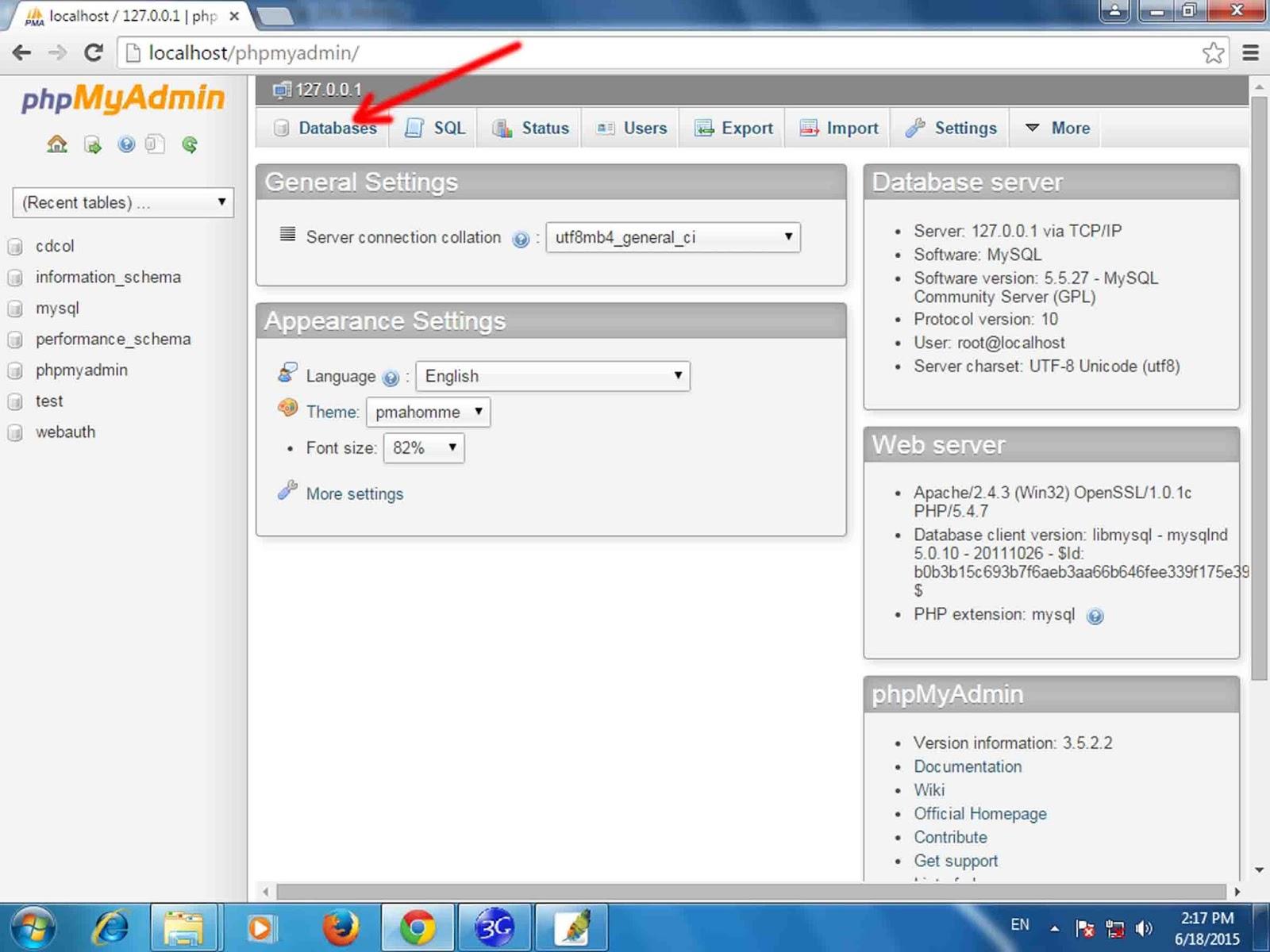 Cara Membuat Tabel Database MySQL Di PHPMyAdmin - PHP
