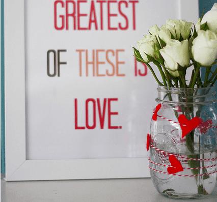 El Yapımı Romantik Sevgililer günü hediyesi