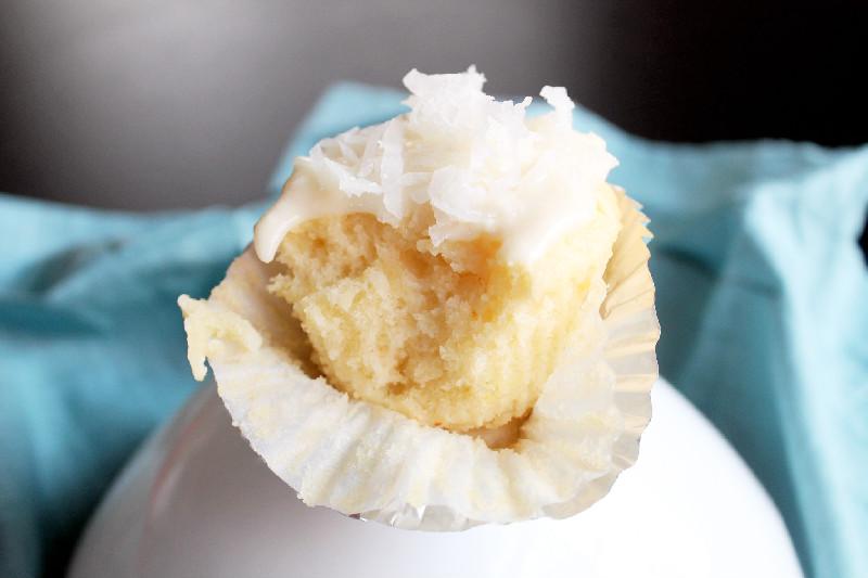 Pineapple Coconut Dream Cupcakes
