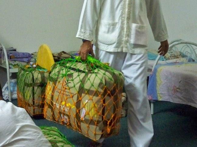 Jaring Pelindung Koper Jemaah Haji/umroh indonesia