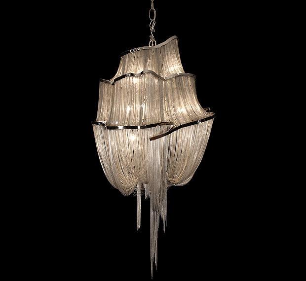 Lighting Design Alan Mizrahi Chain Chandeliers