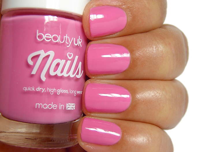 Beauty UK Nails - Pretty in Pink