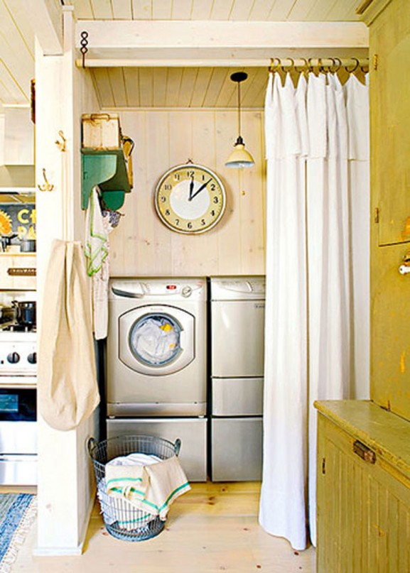 Nostalgia and now laundry rooms - Home decor for small spaces image ...
