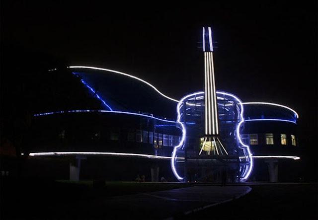 Piano House, uma construção com estilo musical