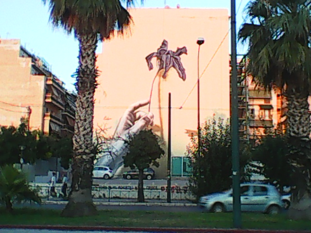 athens  grafiti-larisa station