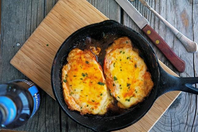 Buffalo-Style Pork Chops