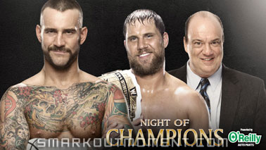 WWE Night of Champions 2013 PPV Intercontinental Championship