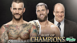 Night of Champions CM Punk vs Paul Heyman & Curtis Axel Odds