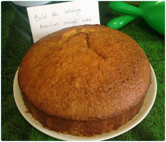 Clandestine Cake Club Bolton - Orange Cake