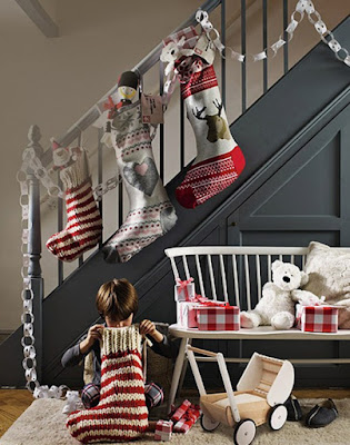Calcetines navideños para decorar