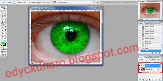 Merubah Warna Mata Dengan PhotoShop