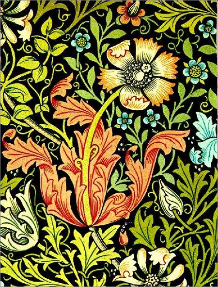 David Dangerous: William Morris Wallpaper