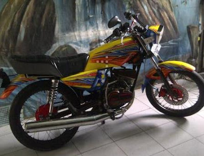 RX King Full Airbrush Modif