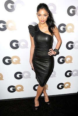 Nicole Scherzinger One Shoulder Dress