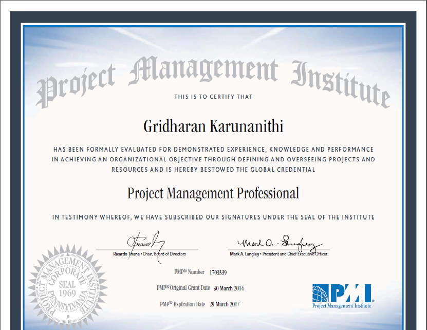 Mirror Pmp Certification