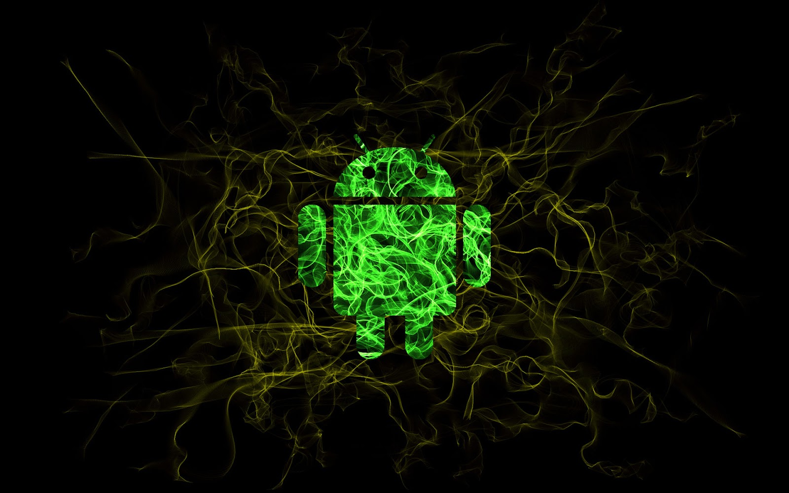 Android Wallpaper Background Green HD
