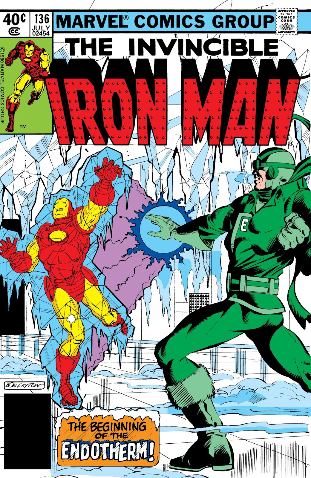 Marvel Comics of the 1980s: 1980 - Anatomy of a Cover - Iron Man ...