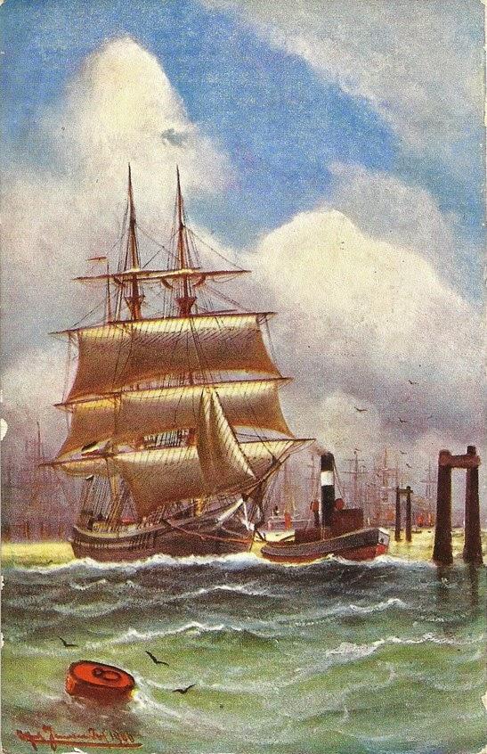 Maritime Bilder posewe maritime bilder sechs künstlerkarten segelschiffe