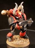 Corsarios Rojos de los Marines Espaciales del Caos de Warhammer 40000