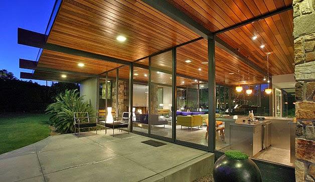 Fotos de la casa que adquirió Leonardo DiCaprio en Palm Springs 10