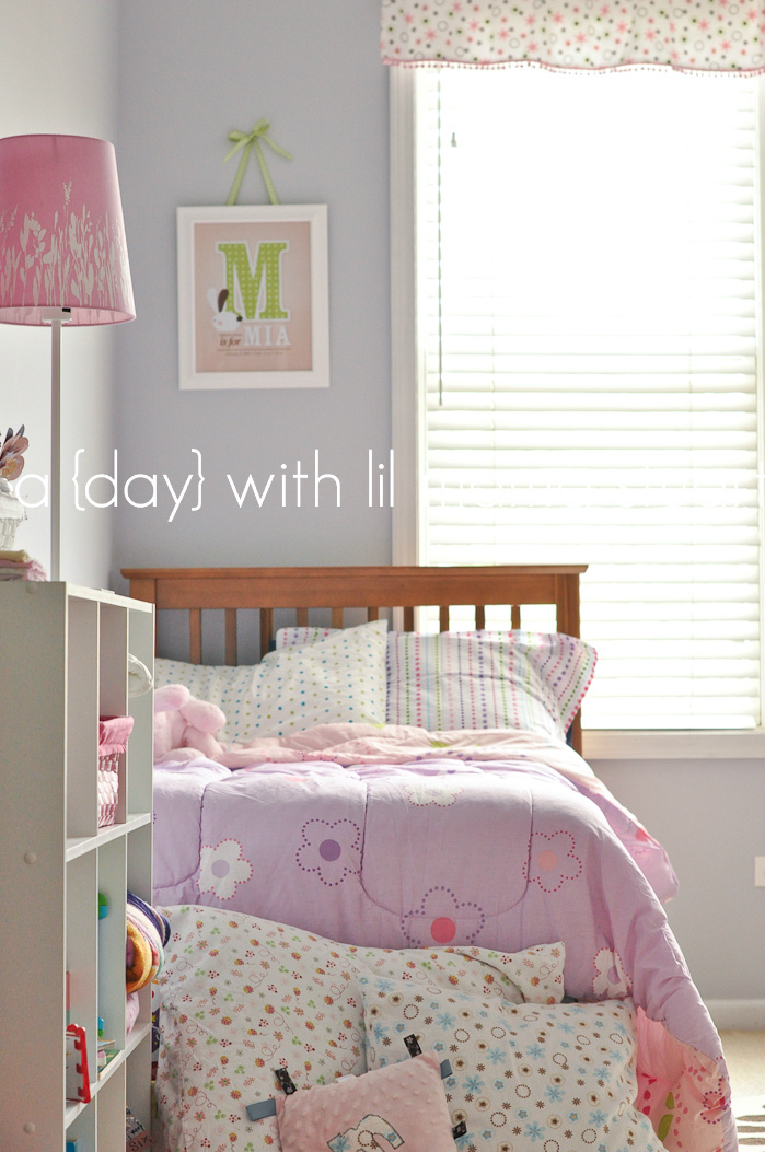 A Day With Lil Mama Stuart Baby Girl 39 S Nursery Toddler Bedroom Decor