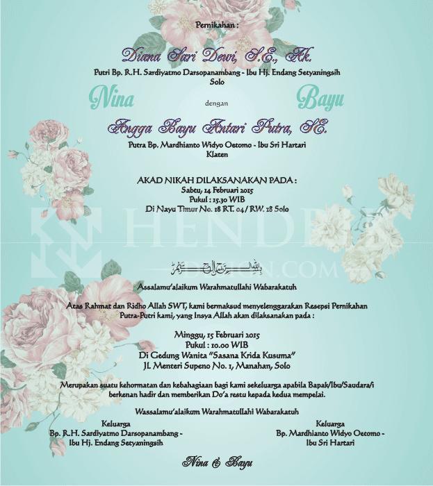 ... HCGD-17) | desain dan percetakan undangan pernikahan termurah di solo