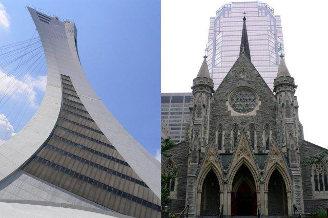 Torre de Montreal Tour de Montreal y Catedral Christ Church