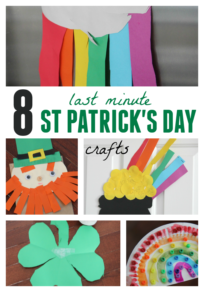 Toddler Approved 8 Easy St Patricks Day Crafts For Kids